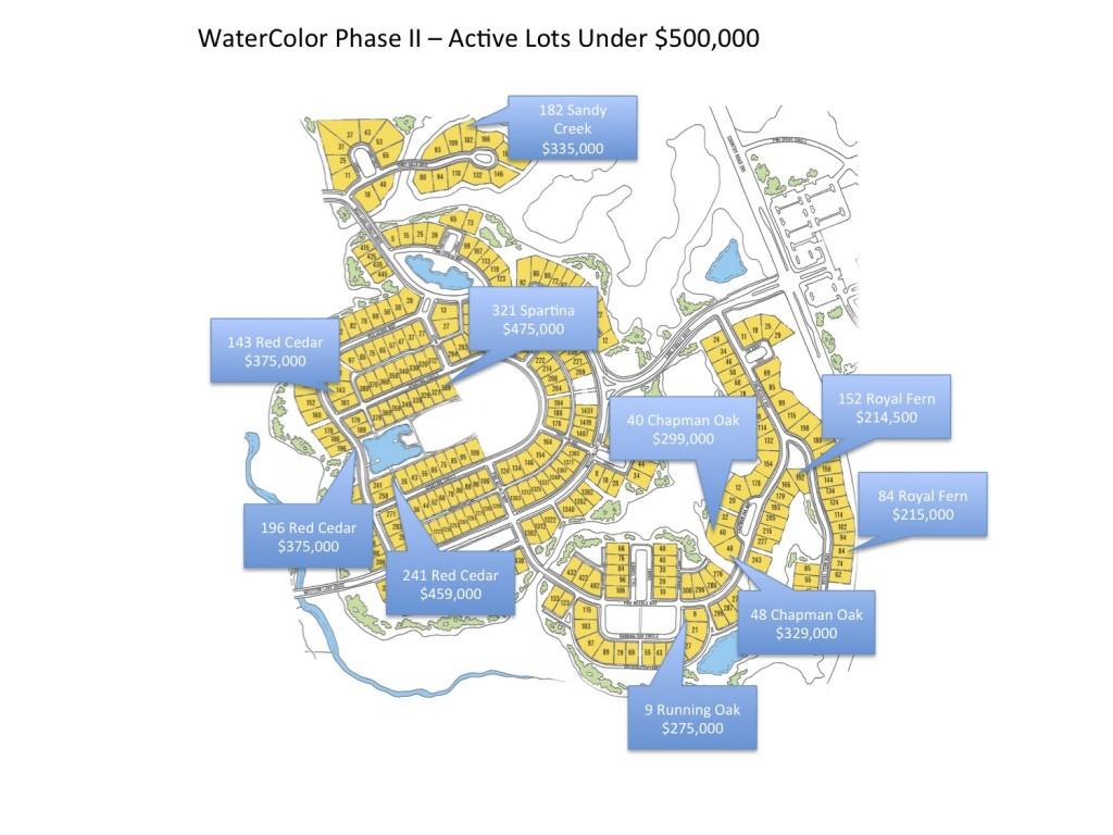 WaterColor FL lots