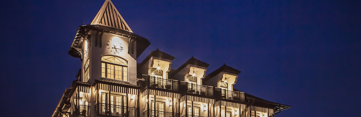 The Town Center near real estate and properties for sale in Rosemary Beach, FL