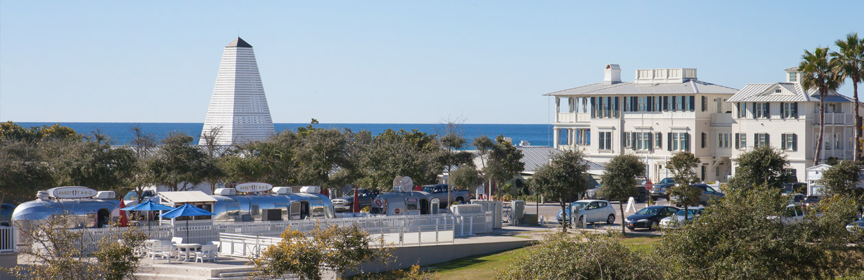 A photo of properties near our Seaside FL real estate sales