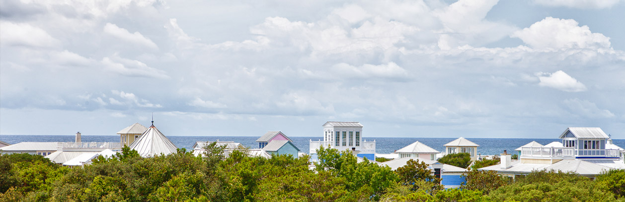 Seaside - one of the 30A neighborhoods where we sell real estate