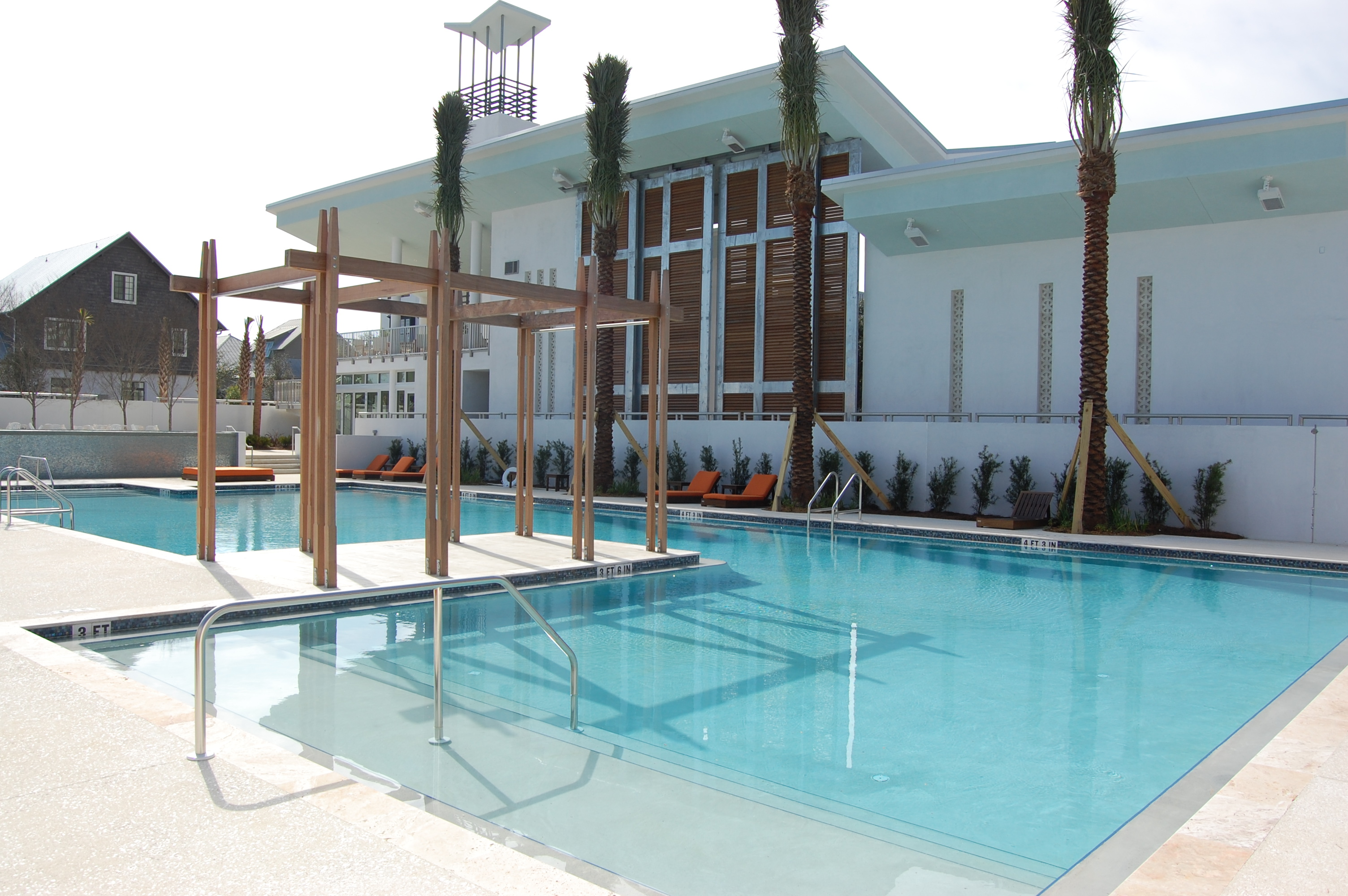 Luxury Club Pool In Rosemary Beach Fl