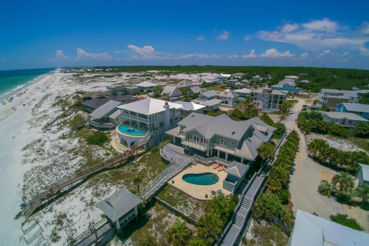 Grayton beach gulf front home for sale beach group for Houses for sale watercolor fl