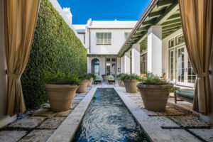 Courtyard Home For Sale In Alys Beach Beach Group Properties