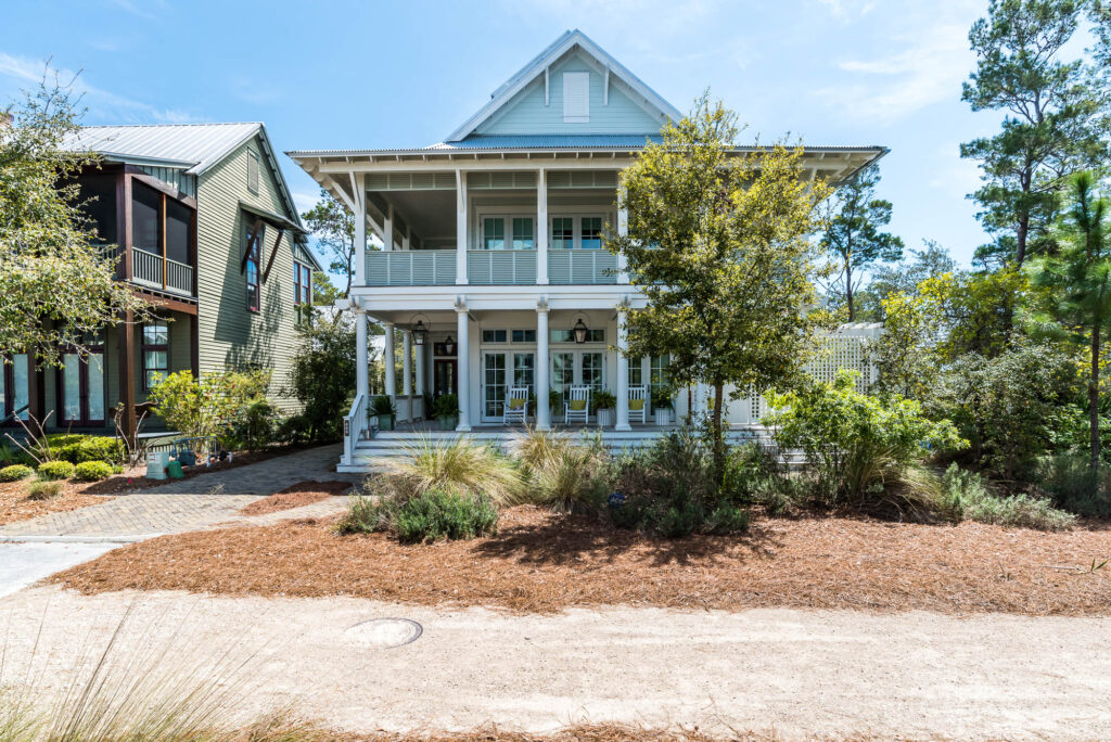 watercolor lakefront home new to market beach group